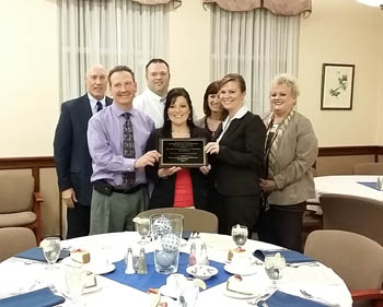 Liberty National Bank named Chamber's business of the year