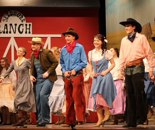 'Oklahoma!' plays to a full house