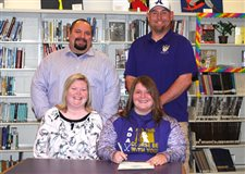 Ramey signs to attend Bluffton University